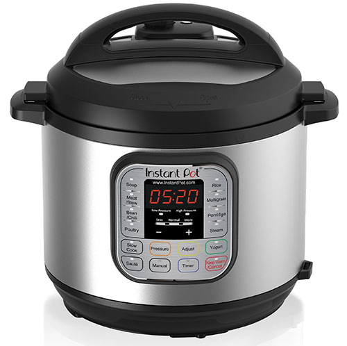 Instant Pot 6Qt IP-DUO60 7-in-1 Programmable Stainless Steel Pressure Cooker