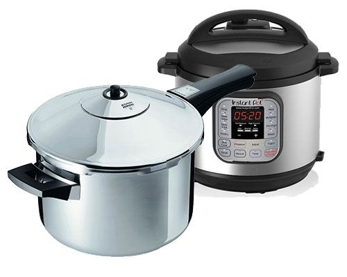 Stove Top Pressure Cooker vs Electric Pressure Cooker
