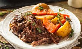 Pressure Cooked Pot Roast Dinner