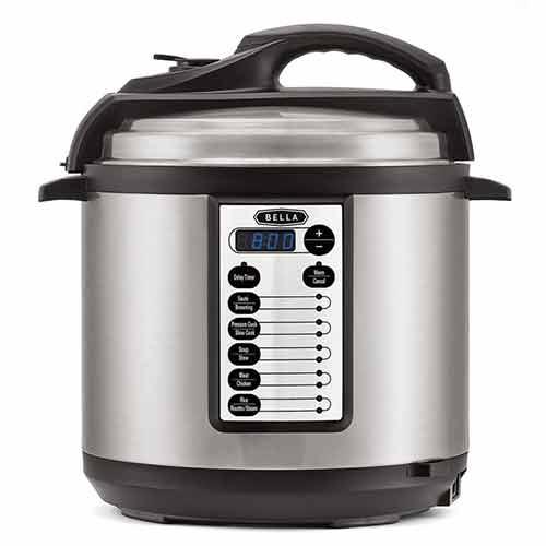 BELLA BLA14467, 6-Quart Pressure Cooker