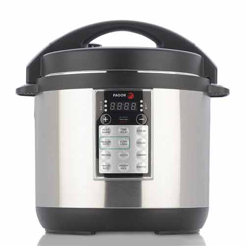 Fagor LUX Multi-Cooker, 6-Quart Electric Pressure Cooker